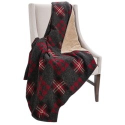 Woolrich Vintage II Reversible Throw Blanket