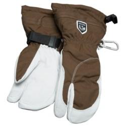 Hestra Heli 3 Finger Ski Gloves - Waterproof, Insulated (For Women)