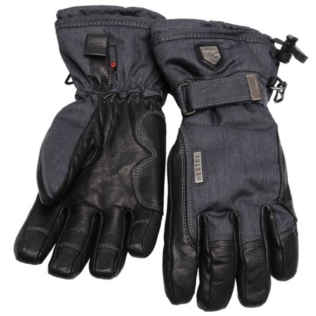 Hestra Classic Czone Ski Gloves - Waterproof, Insulated, Leather (For Men)