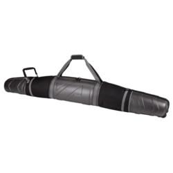 Athalon Molded Double Ski Bag - Wheeled