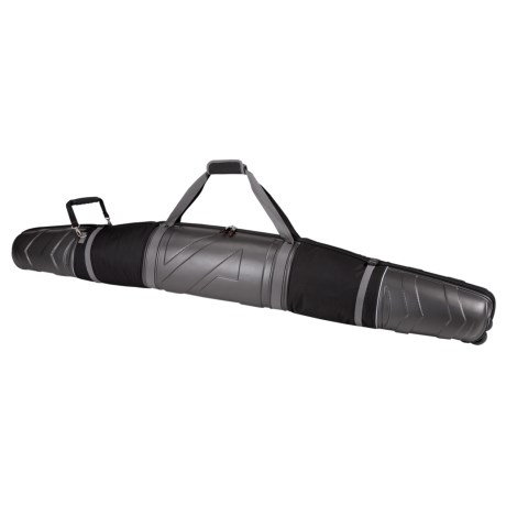 Athalon Molded Double Ski Bag - Wheeled