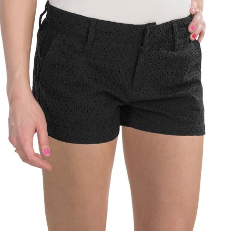 Hurley Lowrider Lace Walkshorts - Low Rise (For Women)