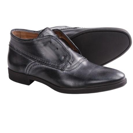 John Varvatos Dylan Laceless Chukka Boots - Leather (For Men)