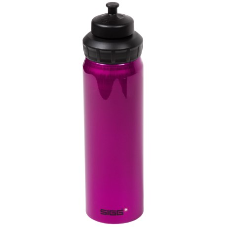 Sigg Wide-Mouth Water Bottle - 0.75L, Sport Cap, BPA-Free