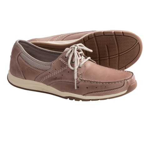 Clarks Armada English Shoes - Leather-Mesh (For Men)