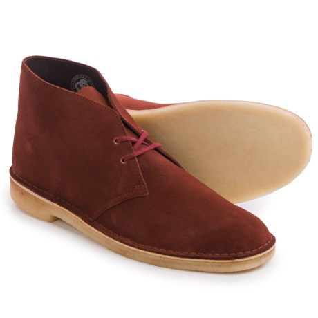 Clarks Desert Boots - Leather (For Men)