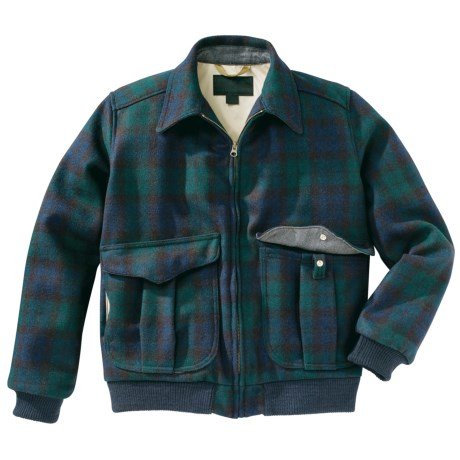 Filson Madrona Plaid Bomber Jacket - Wool (For Men)
