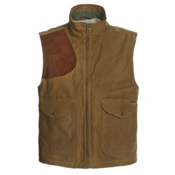 Filson Shelter Cloth Vest - Waxed Cotton (For Men)