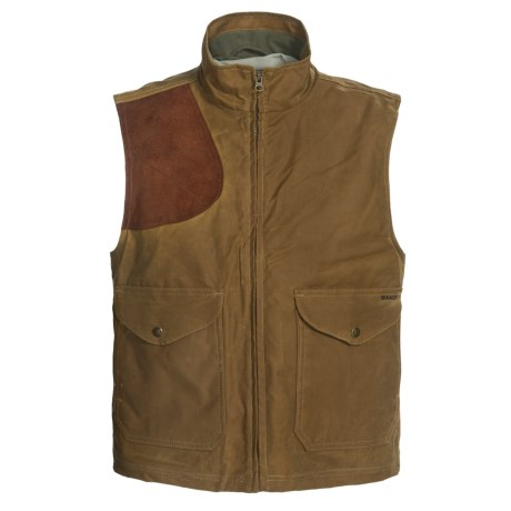 Filson Shelter Cloth Vest - Waxed Cotton (For Men)