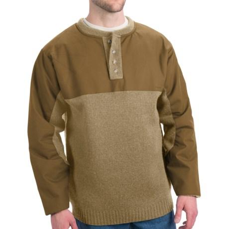 Filson Guide Waterfowl Oil-Finished Sweater - Merino Wool (For Tall Men)