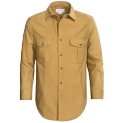 Filson Antique Tin Cloth Shirt - Long Sleeve (For Men)
