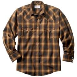 Filson Diablo Western Shirt - Merino Wool, Long Sleeve (For Men)