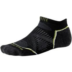 SmartWool PhD Run Light Socks - Merino Wool, Below-the-Ankle (For Men and Women)