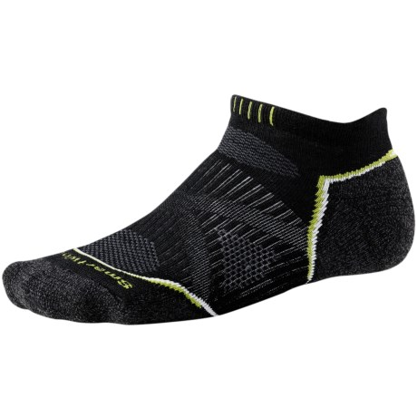 SmartWool PhD Run Light Socks - Merino Wool, Below-the-Ankle (For Men and Women)