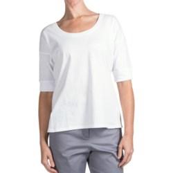 Pendleton Ally T-Shirt - Elbow Sleeve (For Women)