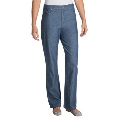 Pendleton Chambray Chic Pants (For Women)