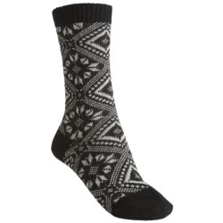 Falke Norwegian Pattern Socks - Crew (For Women)