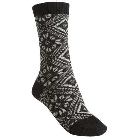 Falke Norwegian Pattern Socks - Crew (For Women)