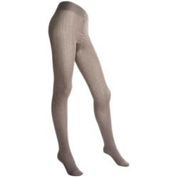 Falke Sensual Touch Rib Tights (For Women)