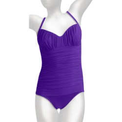 Miraclesuit Rialto Ruched Swimsuit - 1-Piece (For Women)