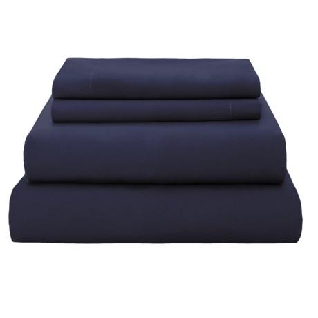 Coyuchi Organic Cotton Sateen Sheet Set - 300 TC, Queen