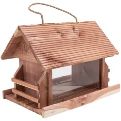 Perky Pet Lodge Wild Bird Feeder