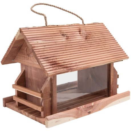 Perky Pet Lodge Wild Bird Feeder