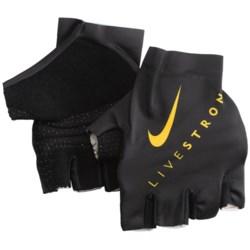 Nike Livestrong TT Fingerless Cycling Gloves (For Men and Women)