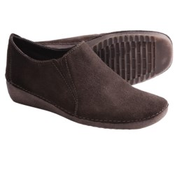 The Flexx Quarter Back Shoes - Suede (For Women)