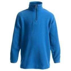 Polartec® Aircore Fleece Pullover Jacket - Zip Neck (For Little Boys)