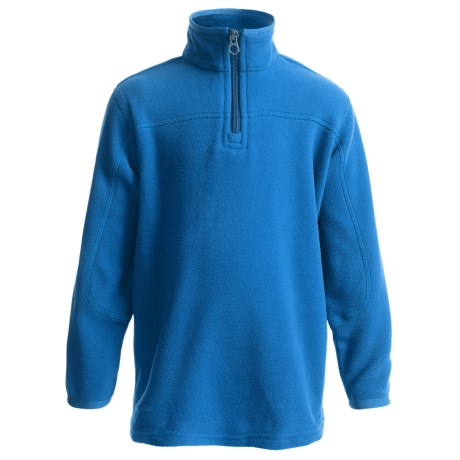 Polartec® Aircore Fleece Pullover Jacket - Zip Neck (For Little Boys)