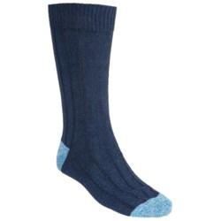 Pantherella Country Cotton Melange Socks - Crew (For Men)
