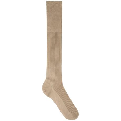 Falke Ribbed Egyptian Cotton Socks - Knee High (For Men)