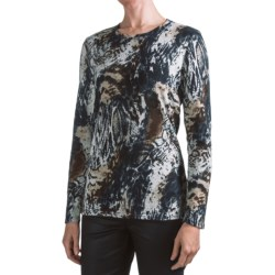 FDJ French Dressing Fall Foliage T-Shirt - Crew Neck, Long Sleeve (For Women)