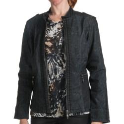 FDJ French Dressing Cobra Jean Jacket (For Women)