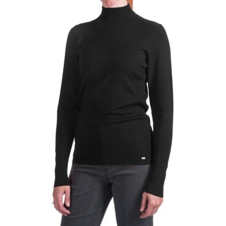 FDJ French Dressing Mock Neck Sweater - 12-Gauge (For Women)