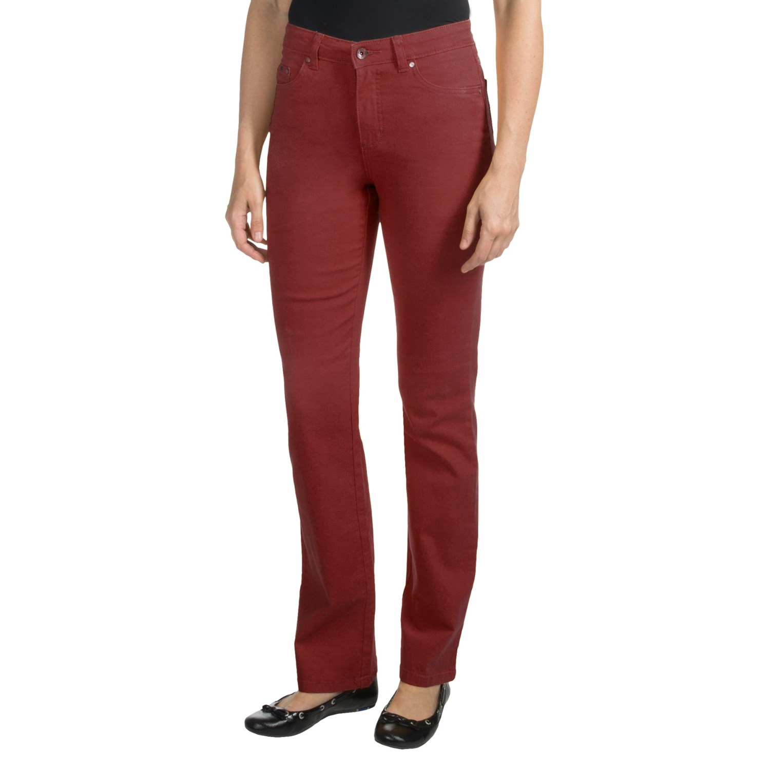 Red Bootcut Jeans For Women