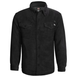 Dickies Solid Polar Fleece Shirt - Insulated, Quilted, Long Sleeve (For Big Men)