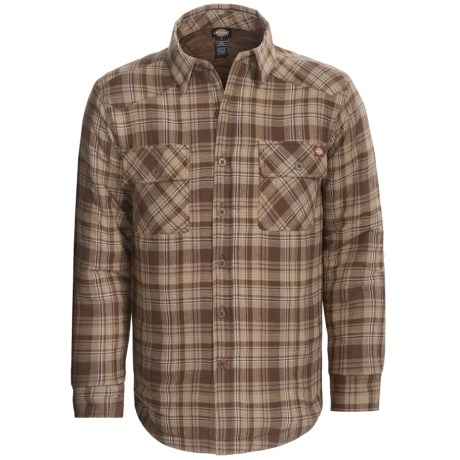 Dickies Shirt Jacket - Review of Dickies Western Flannel Shirt ... : quilted flannel shirt jacket - Adamdwight.com