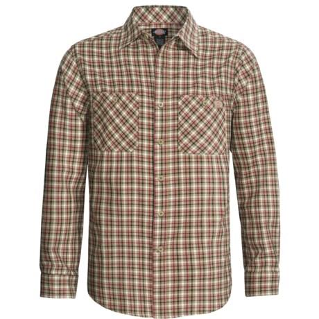 Dickies Twill Plaid Shirt - Long Sleeve (For Men)