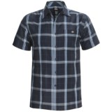 Dickies Plaid Square Bottom Shirt - Short Sleeve (For Big Men)