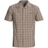 Dickies Plaid Camp Shirt - Short Sleeve (For Men)