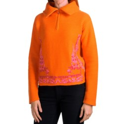 Bogner Stanja Sweater - Zip Neck, Wool-Cashmere (For Women)