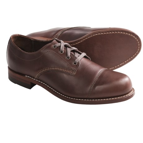 Wolverine 1000 Mile Watson Oxford Shoes - Cap Toe, Factory 2nds (For Men)
