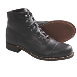 Wolverine 1000 Mile Rockford Cap-Toe Boots - Leather, Factory 2nds (For Men)