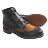 Wolverine 1000 Mile Addison Two-Tone Wingtip Boots - Factory 2nds, Leather (For Men)