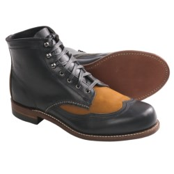 Wolverine 1000 Mile Addison Two-Tone Wingtip Boots - Leather, Factory 2nds (For Men)
