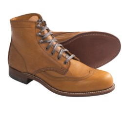 Wolverine 1000 Mile Addison Wingtip Boots - Factory 2nds, Leather (For Men)