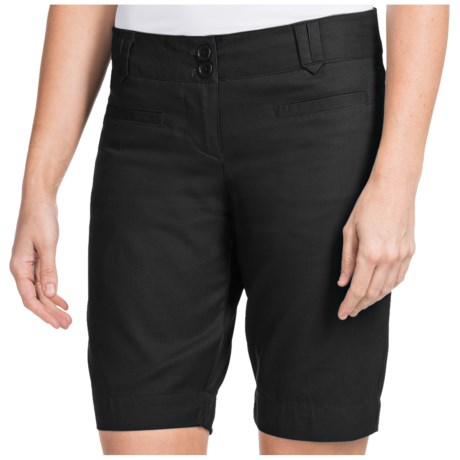 Specially made Stretch Cotton Twill Shorts (For Women)
