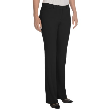 Specially made Stretch-Woven Dress Pants - Straight Leg (For Women)